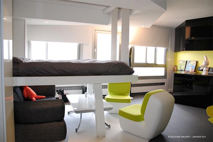 Tiết kiệm không gian trong nhà ở với đồ nội thất thông minh 8