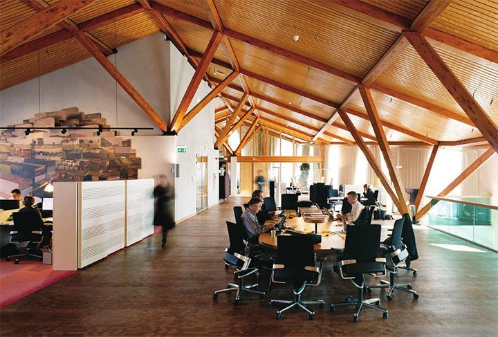Dù là ở bất kì nơi đâu trong tòa nhà bạn cũng có thể tìm đến nguồn ánh sáng tự nhiên