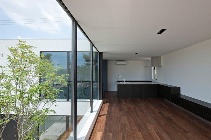 Gam màu sáng và lạnh là concept chính của tòa nhà