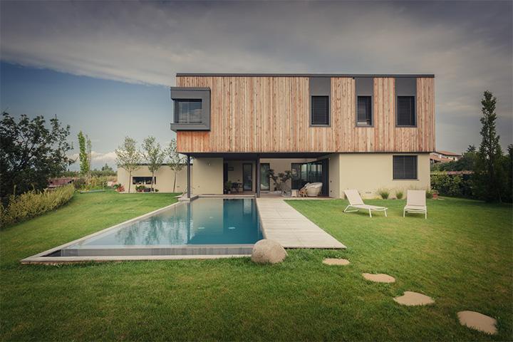 M House - Thiết kế biệt thự tận dụng không gian cây xanh trong nhà 4