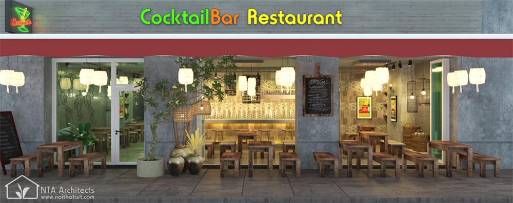 Cocktail Bar - Sức thu hút từ nhà hàng cổ kiểu Đức 1