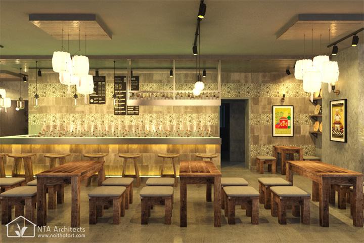 Cocktail Bar - Sức thu hút từ nhà hàng cổ kiểu Đức 2