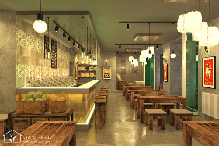 Cocktail Bar - Sức thu hút từ nhà hàng cổ kiểu Đức 3