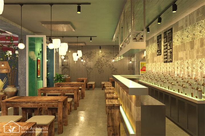 Cocktail Bar - Sức thu hút từ nhà hàng cổ kiểu Đức 4