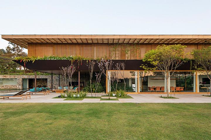 SW House - Biệt thự nghĩ dưỡng cuối tuần siêu đẹp ở Brazil 6