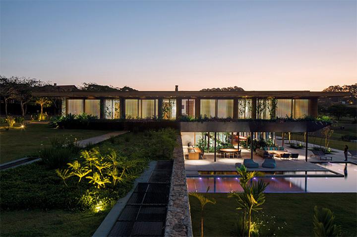 SW House - Biệt thự nghĩ dưỡng cuối tuần siêu đẹp ở Brazil 7