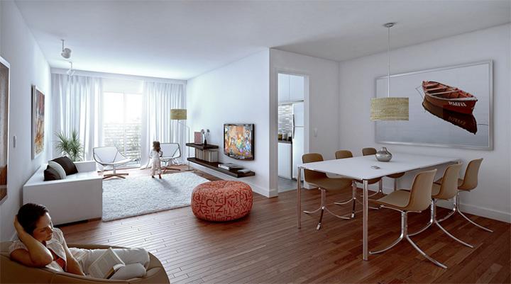 Thiết kế phòng khách kết hợp phòng ăn tạo nên không gian tuyệt đẹp 6