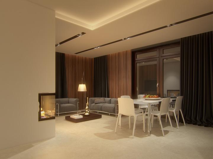 Thiết kế phòng khách kết hợp phòng ăn tạo nên không gian tuyệt đẹp 8