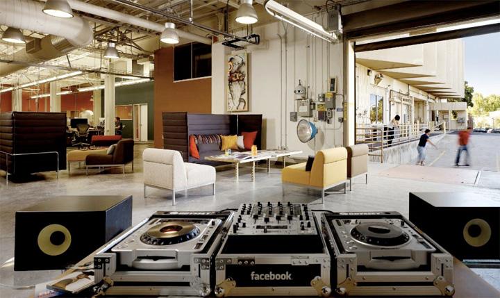 Văn phòng làm việc của Facebook tại thung lũng Silicon 14