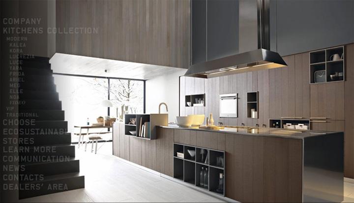 Xu hướng thiết kế nhà bếp 2017 theo nội thất bếp Cesar 1