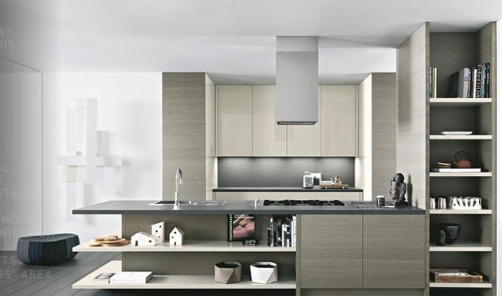 Xu hướng thiết kế nhà bếp 2017 theo nội thất bếp Cesar 5