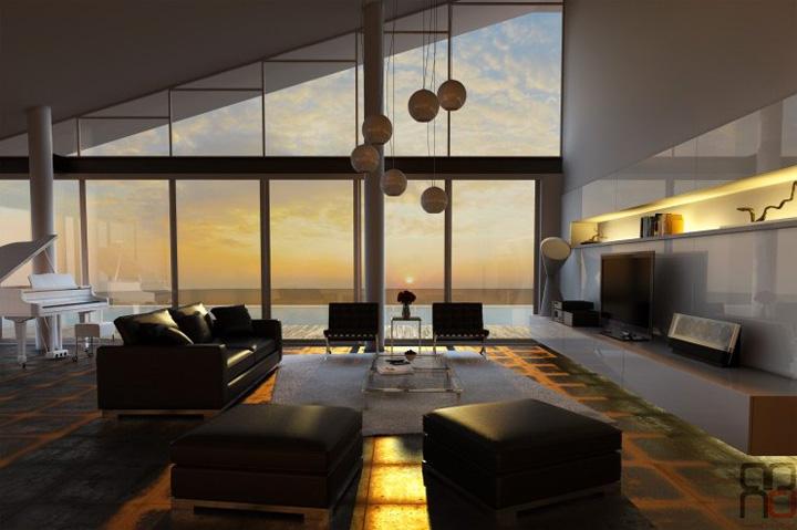 3 xu hướng thiết kế phòng khách hiện đại đang được yêu thích 4