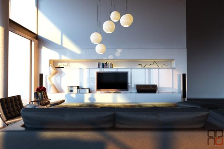 3 xu hướng thiết kế phòng khách hiện đại đang được yêu thích 5