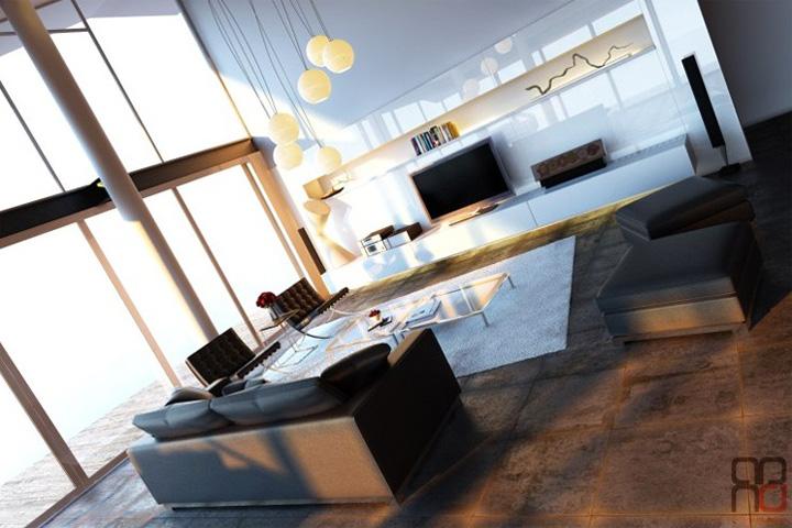 3 xu hướng thiết kế phòng khách hiện đại đang được yêu thích 6