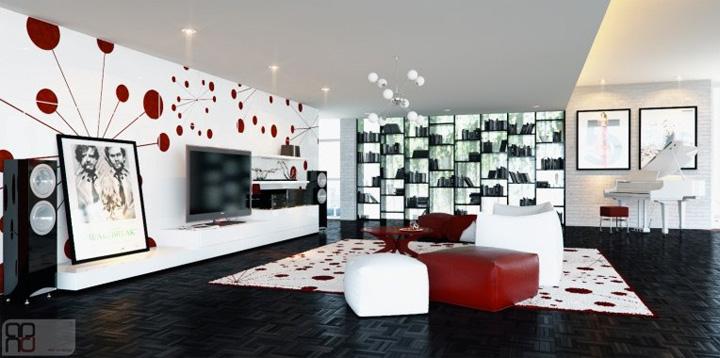 3 xu hướng thiết kế phòng khách hiện đại đang được yêu thích 9
