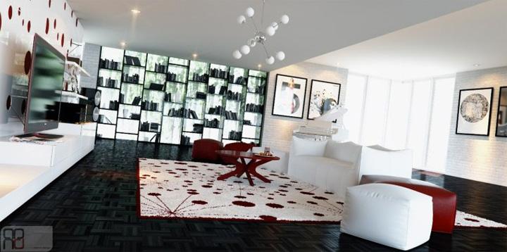 3 xu hướng thiết kế phòng khách hiện đại đang được yêu thích 10