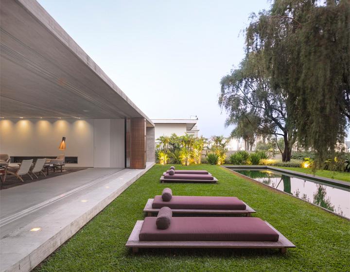 P House - Mẫu biệt thự sân vườn 3 tầng hiện đại rộng mở 5