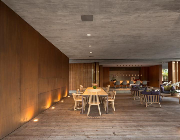 P House - Mẫu biệt thự sân vườn 3 tầng hiện đại rộng mở 7