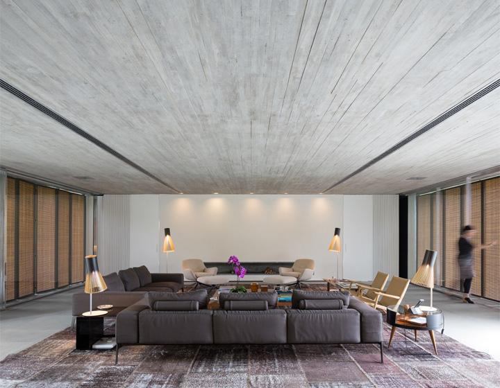 P House - Mẫu biệt thự sân vườn 3 tầng hiện đại rộng mở 8