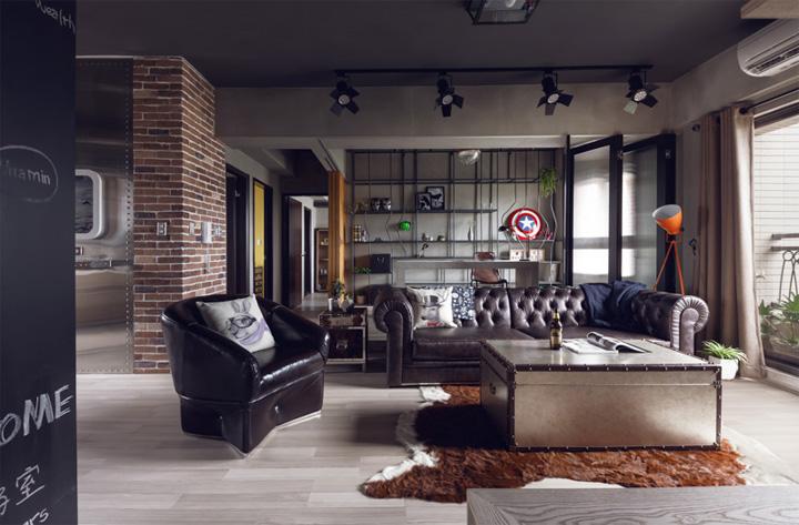 Mẫu thiết kế phòng khách hiện đại mang đến cảm giác thư thái 2