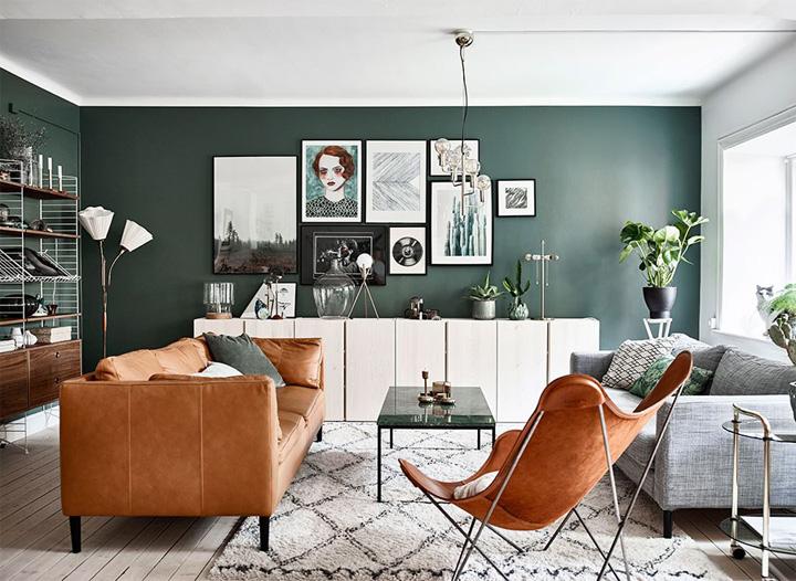 Mẫu thiết kế phòng khách hiện đại mang đến cảm giác thư thái 5