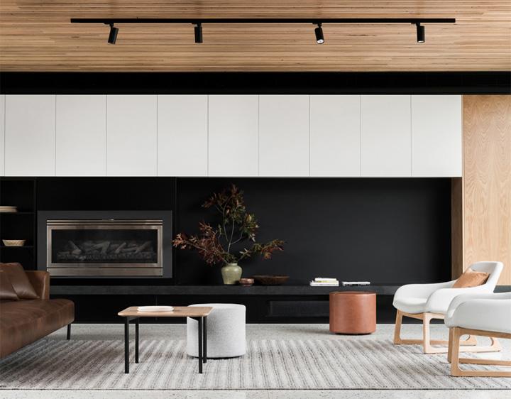 Mẫu thiết kế phòng khách hiện đại mang đến cảm giác thư thái 7