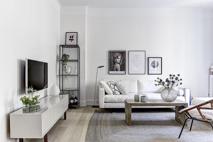 Mẫu thiết kế phòng khách hiện đại mang đến cảm giác thư thái 9
