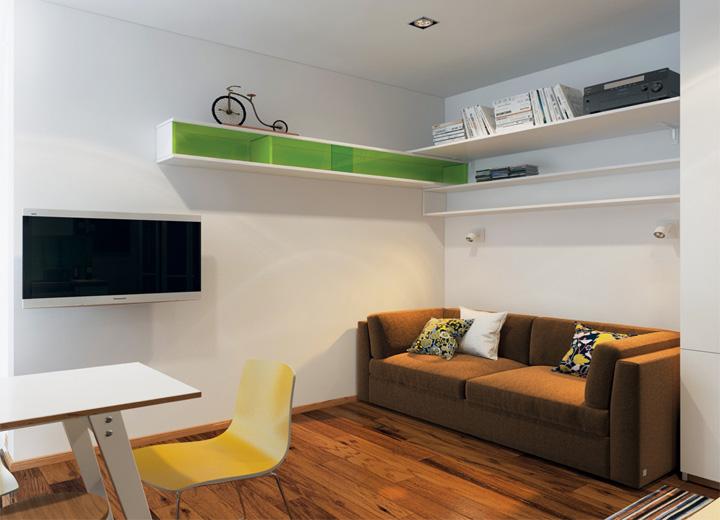 5 phong cách thiết kế căn hộ nhỏ có diện tích dưới 40 m2 1
