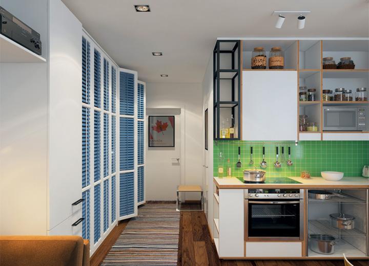 5 phong cách thiết kế căn hộ nhỏ có diện tích dưới 40 m2 3