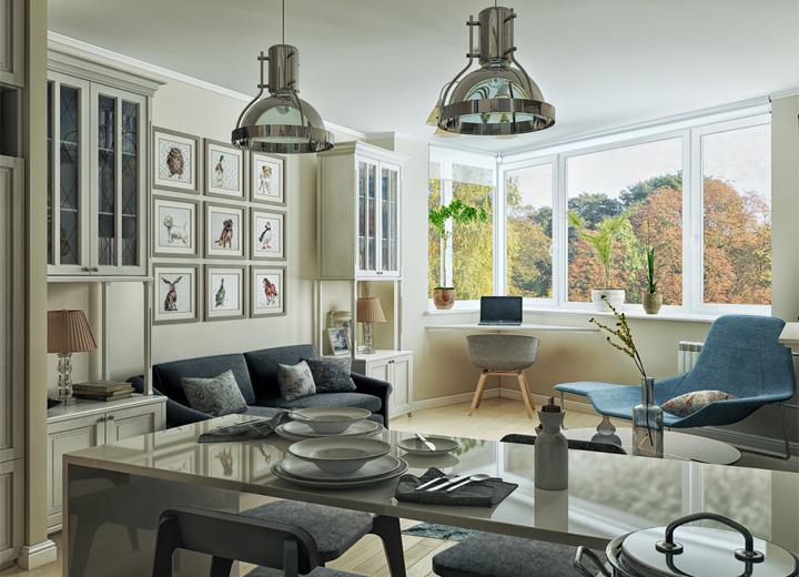 5 phong cách thiết kế căn hộ nhỏ có diện tích dưới 40 m2 8
