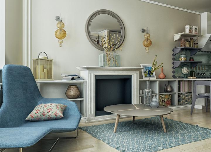 5 phong cách thiết kế căn hộ nhỏ có diện tích dưới 40 m2 10