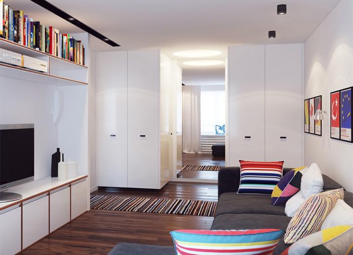 5 phong cách thiết kế căn hộ nhỏ có diện tích dưới 40 m2 16