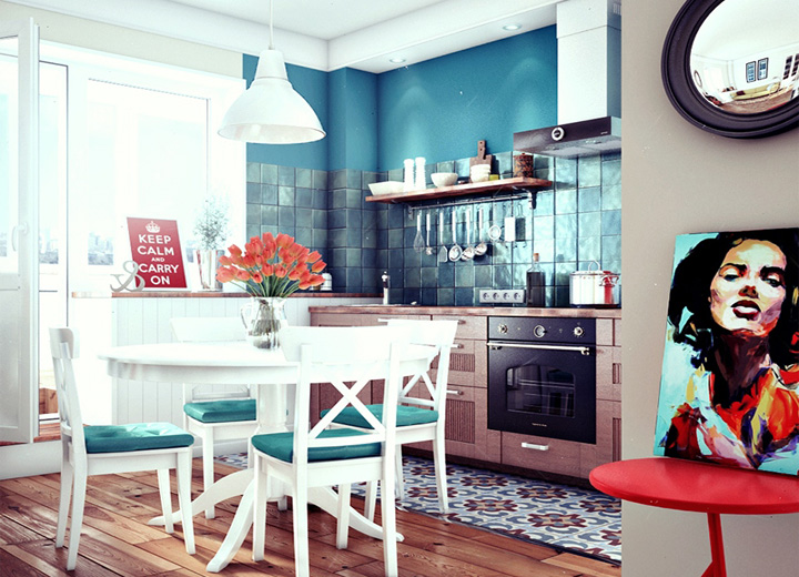 5 phong cách thiết kế căn hộ nhỏ có diện tích dưới 40 m2 24