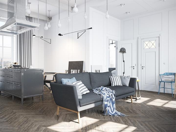 Nét tinh tế với căn hộ mang phong cách thiết kế Scandinavian 1
