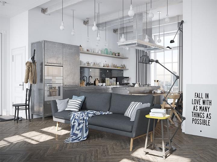Nét tinh tế với căn hộ mang phong cách thiết kế Scandinavian 2