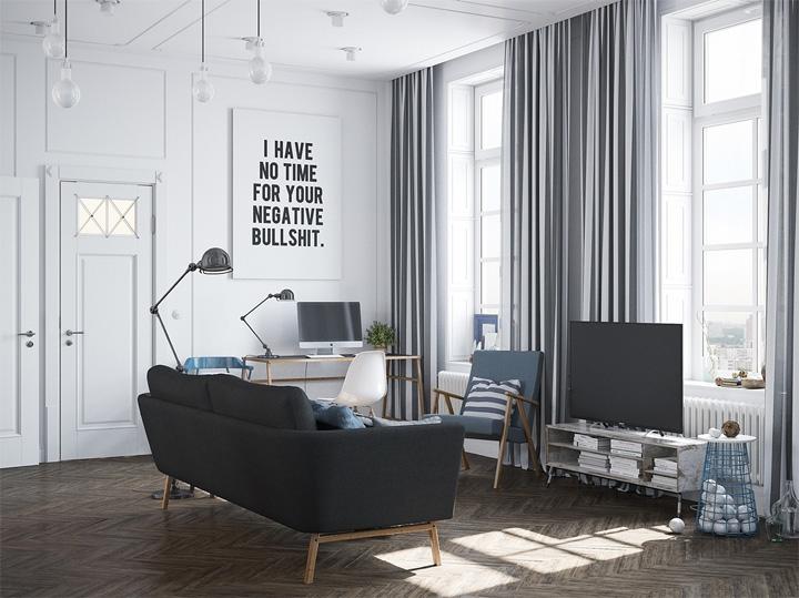 Nét tinh tế với căn hộ mang phong cách thiết kế Scandinavian 3