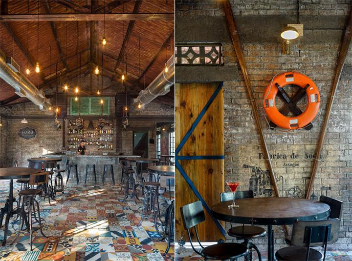 Soro - Mẫu thiết kế quán cafe bar rượu phong cách công nghiệp 7