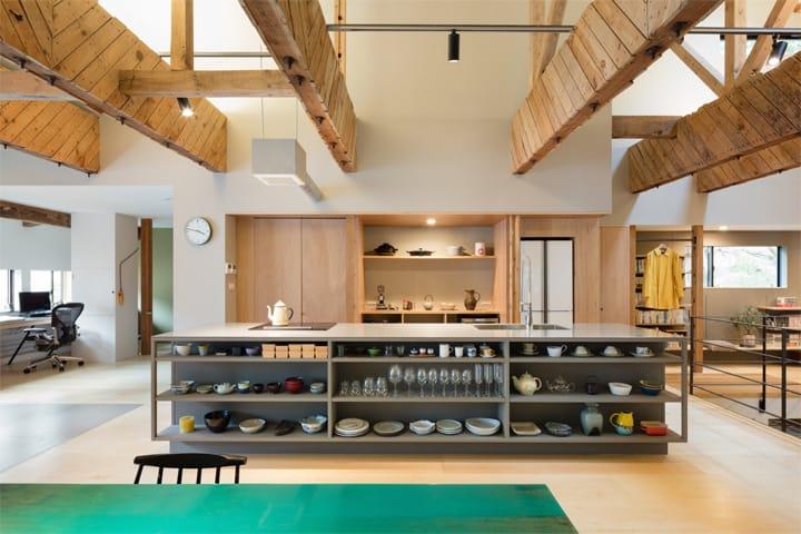 Thiết kế cải tạo nhà cũ từ một trung tâm geisha ở Kinosaki 8