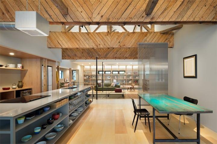 Thiết kế cải tạo nhà cũ từ một trung tâm geisha ở Kinosaki 10
