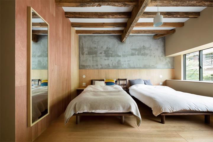 Thiết kế cải tạo nhà cũ từ một trung tâm geisha ở Kinosaki 17