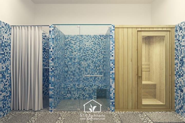 Cuốn hút với thiết kế nội thất spa tông màu tím lavender 8