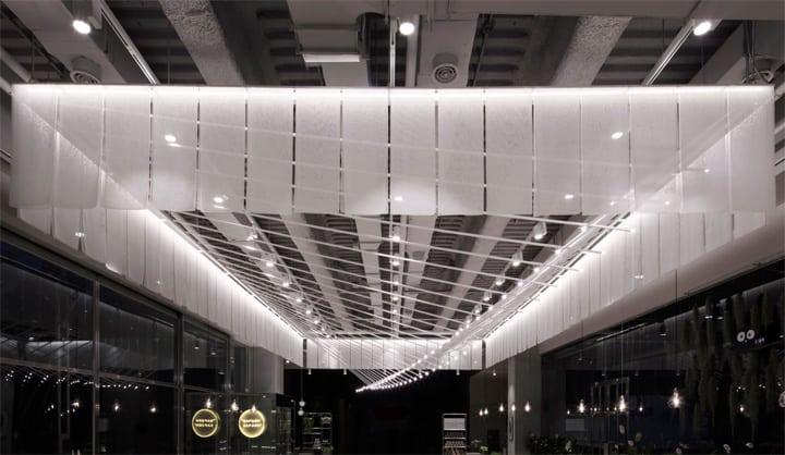 Quán cafe 1 tầng hiện đại của tập đoàn nhân sâm Hàn Quốc 2