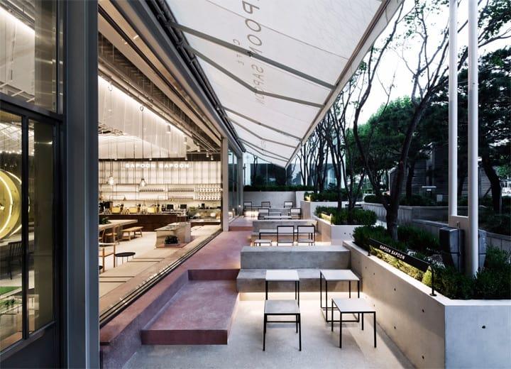 Quán cafe 1 tầng hiện đại của tập đoàn nhân sâm Hàn Quốc 4