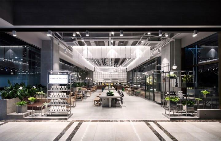 Quán cafe 1 tầng hiện đại của tập đoàn nhân sâm Hàn Quốc 6