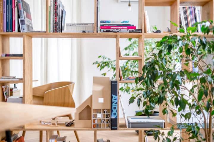 Cải tạo căn hộ thành văn phòng làm việc nhỏ xinh ở Bulgaria 3