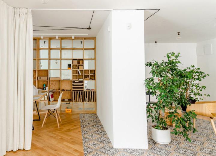 Cải tạo căn hộ thành văn phòng làm việc nhỏ xinh ở Bulgaria 6