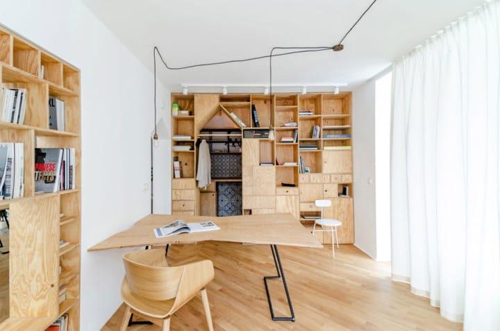 Cải tạo căn hộ thành văn phòng làm việc nhỏ xinh ở Bulgaria 9
