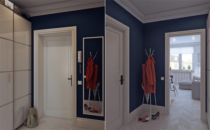 4 mẫu thiết kế nội thất căn hộ nhỏ xinh theo xu hướng mới 8