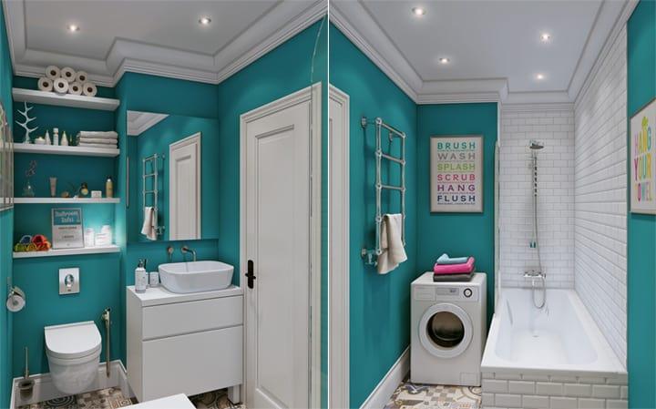 4 mẫu thiết kế nội thất căn hộ nhỏ xinh theo xu hướng mới 9