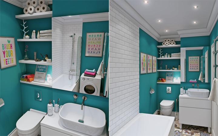 4 mẫu thiết kế nội thất căn hộ nhỏ xinh theo xu hướng mới 11